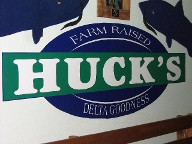 Come Eat at Huck's!